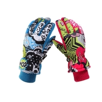 Children's Kids Snow Thermal Gloves Winter Windproof Waterproof Warm Gloves For Boys And Girls Outdoor Ski Sports Skiing Gloves