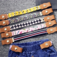 New Child No Buckle Stretch Belt Invisible Kids Toddlers Belts Buckle-Free Elastic Waist Belt  for Boys and Girl`s Jeans Pants