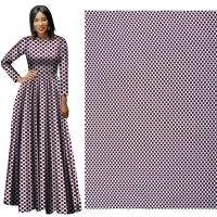 Me-dusa 2019 New Latest African Print Wax Fabric 100% Polyester Hollandais Wax DIY Dress Suit cloth 6yards/pcs high quality