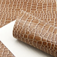 30*138cm Faux Artificial Synthetic Leather Fabric Sheet Hair Bow Snake Bump Texture DIY handmade materials,1Yc7477