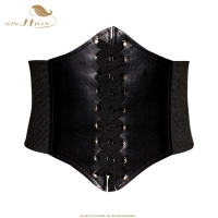 SISHION Black Red Pink Body Shapewear Women Gothic Clothing Underbust Waist Cincher Sexy Bridal Corsets and Bustiers VB0001