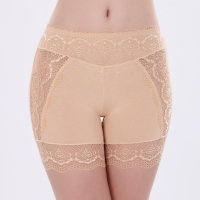 Female Summer Modal Safety Shorts Pants Large Size Low Waist Shorts Women Ladies Lace Thigh Shorts Breathable 7ZAA970