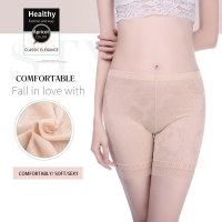 Innsly safety shorts women  plus size summer breathable safety shorts sexy lace safety panties heavy waist fashion safety briefs