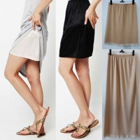 Summer Sexy Intimates Women Casual Underskirts Ladies Basic Mini Skirt Underdress Loose Half Slips Petticoat Underskirts