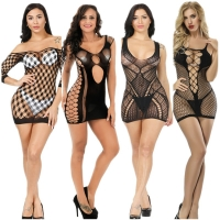 slip black full slips women intimates Hollow spandex sexy slips new arrive