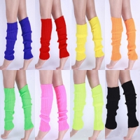 Hot Women Solid Color Knit Winter Leg Warmers Knee High Legging Boot  22LP