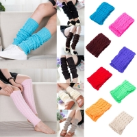 Feitong High Quality Women Winter Warm Leg Warmers Knitted Crochet Long Socks High Knee Socks2019 Hot Sale Fashion Gift