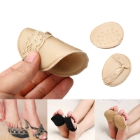 1/2/5pairs Women Forefoot Insoles Invisible High Heeled Shoes/Slip Resistant Half Yard Pads Non Slip T-Shape Cushion Shoe Pads