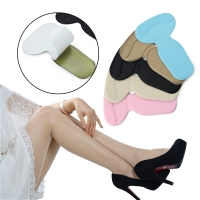 1/2 Pairs New Women's Fashion T-Shape Silicone Non Slip Cushion Comfortable Foot Heel Protector Liner Shoe Insole Pads