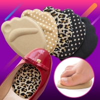 1Pair Anti-pain Sponge Big Shoes Toe Foot Toe Stopper Front Long Top Filler Half Forefoot Cushion Toe Plug