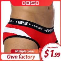 Brand Men Underwear Sexy Men Briefs Breathable Mens Slip Cueca Male Panties Underpants Briefs 4 colors B105