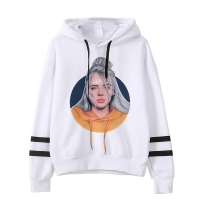 2019 spring Billie Eilish hoodie Print Hooded Women Men sweatshirt Clothes Harajuku Casual Hot Sale Hoodies Kpop sweatshirts