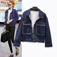 Semfri Jacket Women Winter Denim Jacket High Quality Loose chaqueta mujer 2019 Streetwear All-match Mental Covered Button Coat