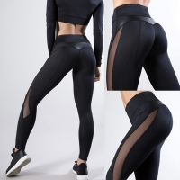 2020 Women Leggings Sexy Pants Push Up Fitness Gym Leggins Running Mesh Leggins Seamless Workout Pants Femme High Waist Mujer