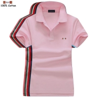 High quality 2020 Summer Women's short sleeve polos shirts cotton casual womens solid color polos shirts fashion lady tops S-4XL