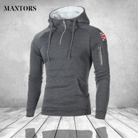 Fashion Mens Zipper Hoodies Hip Hop Sweatshirt Autumn British Flag Men Patchwork Hooded Tracksuit Male Hoody Brand Clothing 3XL