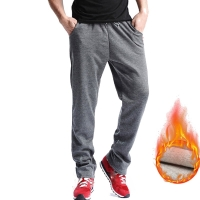 E-BAIHUI new Men Gyms pants Mid Cotton Men's Sporting workout fitness Pants casual sweatpants jogger pant skinny trousers MJ001