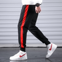 2020 Men Casual Sweatpants Fitness Side Stripe Men's Sportswear Joggers Pants Cotton New Male Gyms Trousers Pantalones Hombre
