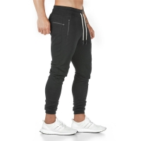 Joggers Sweatpants Mens Slim Casual Pants Solid Color Gyms Workout Cotton Sportswear Autumn Male Fitness Crossfit Track Pants