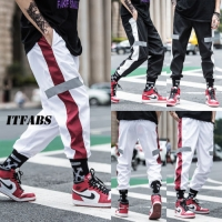 Autumn Streetwear Fitness Pants Men Hip Hop Sweatpants Casual Joggers Unisex Harajuku Joggers Sweatpants