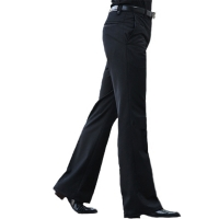2019 New Men's Flared Trousers Formal Pants Bell Bottom Pant Dance White Suit Pants Size 28 29 30 31 32 33 34 36 37