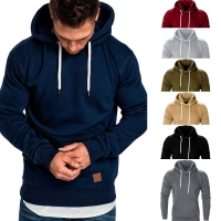 2019 NEW Sweatshirt Autumn Winter Casual Hoodies Men Long Sleeve Solid Hoodie men big size hombre Top Blouse Tracksuits 8.27