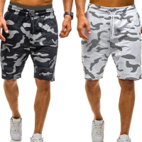 Laamei 2019 New Men Camouflage Shorts Casual Male Hot Sale Military Cargo Shorts Knee Length Mens Summer Short Pants Homme