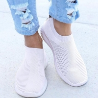 Women Flat Slip on Espadrilles Shoes Woman Lightweight White Sneakers Summer Autumn Loafers Chaussures Femme Basket Flats Shoes