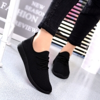 solid Breathable Shallow Mouth woman Shoes concise classics Flying Woven Candy Color Student Net Shoe chaussures femme