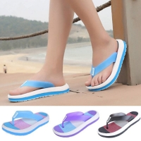 HEFLASHOR Summer Slippers Torridity Beach Slipper Shoes Unisex Mixed Color Slippers Zapatos Hombre  Size 36-41 Beach Sandals