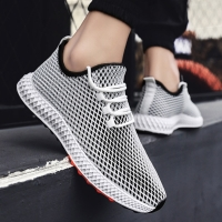 Mens Mesh Flats Shoe 2019 Sneakers Breathable Fashion Casual Shoes Krasovki Light Tenis Masculino Running Man Outdoor Shoes