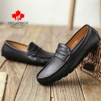 Men's Casual Shoes Men Moccasins Autumn Fashion Driving Boat Shoes Male 2019 Leather Brand Slip-On Cassic Men's shoes Loafers