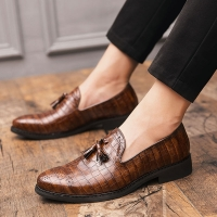 CIMIM Brand Fashion Formal Shoes Men Bullock Business Office Shoes Men 2019 Italy Luxury Big Size Dress Shoes Men Casual