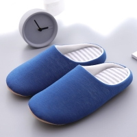 Mntrerm 2019 men Cotton Home Slippers Cute Slippers Winter Warm Plush Indoor Slipper men Warm Soft Bottom Shoes