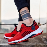 2019 Men Vulcanized Shoes  Sneakers Wear-resisting Non-slip Male Air Mesh Tenis Masculino Plus Size 39-45